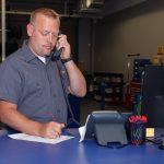 Pirtek Franchise Operations Manager on Phone