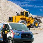 Pirtek quarry composite with van