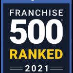 Entrepreneur Franchise 500 Ranked in 2021